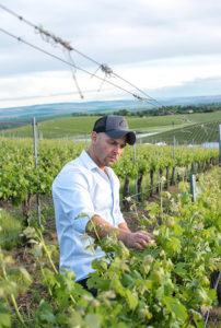 Winemaker Matias Kusulas