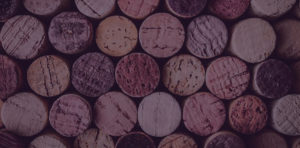 Abstract corks header for Wine page