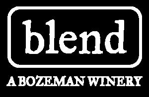 Blend Bozeman wine bar logo