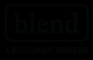 blend bozeman logo black