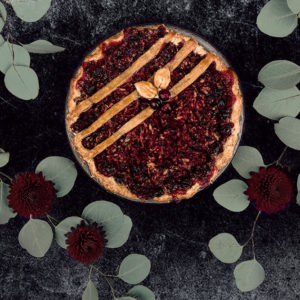 cranberry pie for thanksgiving