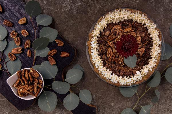 Bourbon Pecan pie for the holidays