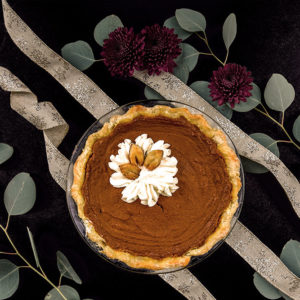 Pumpkin Pie ready to eat